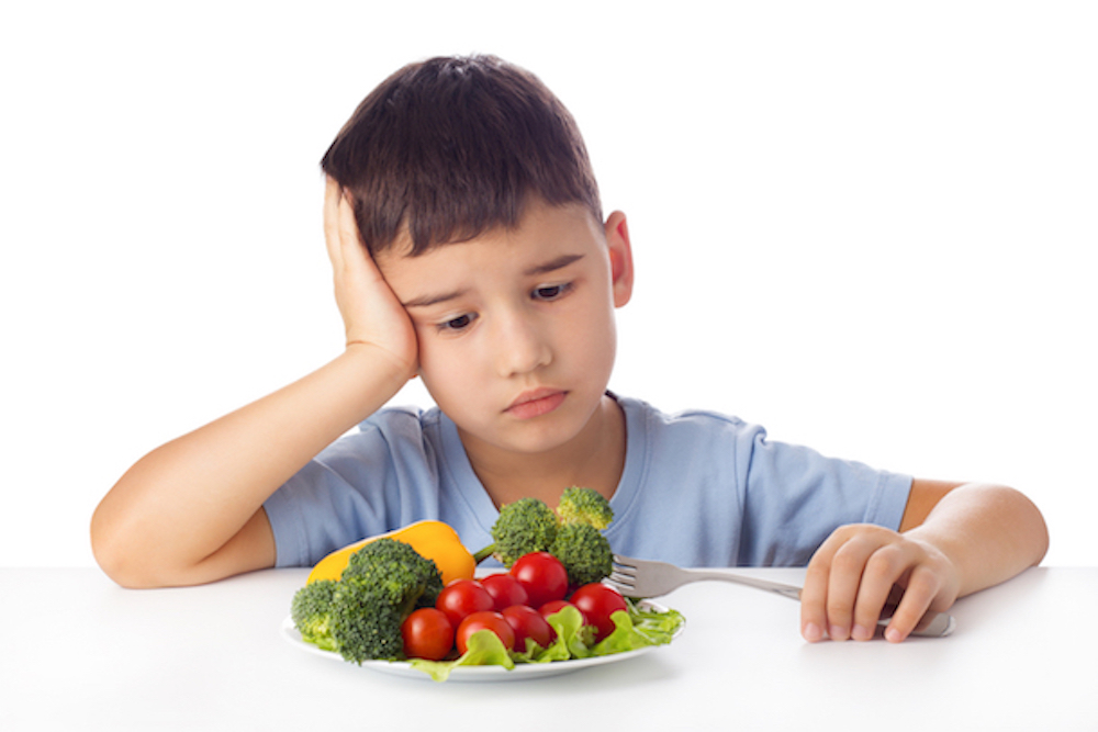 Child Not Eating And Hiding Food